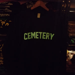 GROUNDSKEEPER sweatshirt small sale - Discount Cemetery