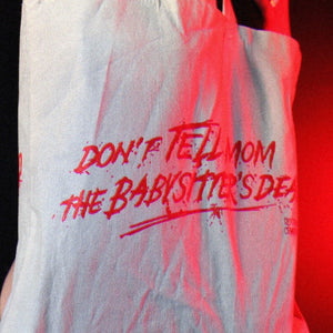 DON'T TELL MOM tote bag - Discount Cemetery