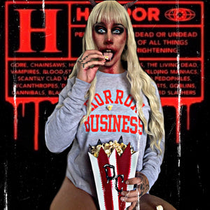 HORROR BUSINESS sweatshirt - Discount Cemetery