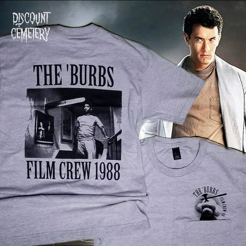 BURBS NIGHTMARE pocket tee - Discount Cemetery