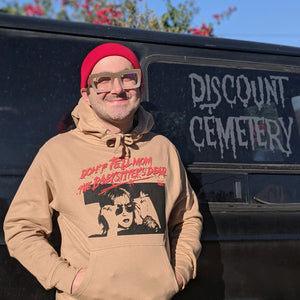 DON'T TELL MOM hoodie - Discount Cemetery