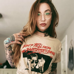 DON'T TELL MOM tee - Discount Cemetery