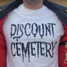 Load image into Gallery viewer, DISCOUNT CEMETERY white - Discount Cemetery