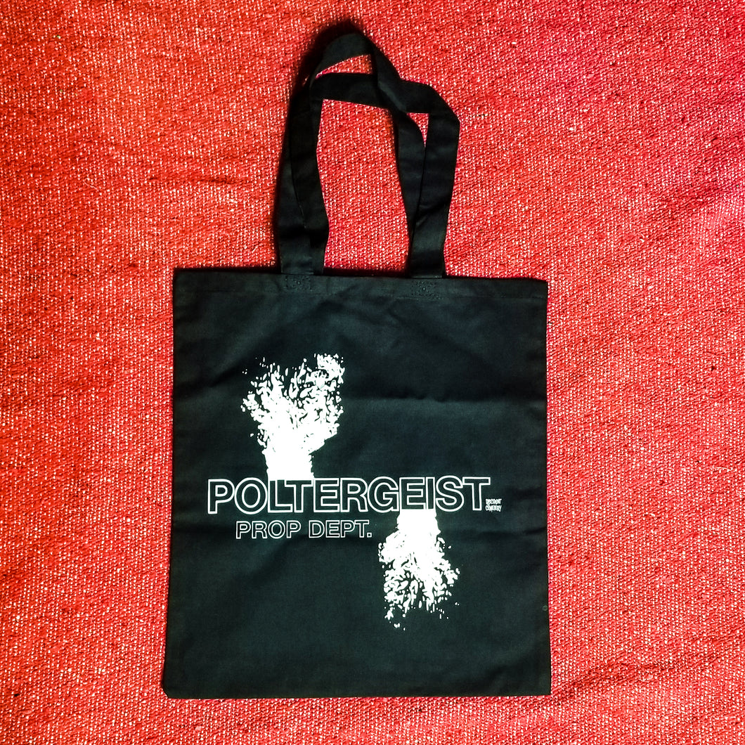 POLTERGEIST PROP DEPT 1982 Tote Bag - Discount Cemetery