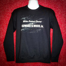 Load image into Gallery viewer, DIRECTED BY ED WOOD JR. sweatshirt - Discount Cemetery