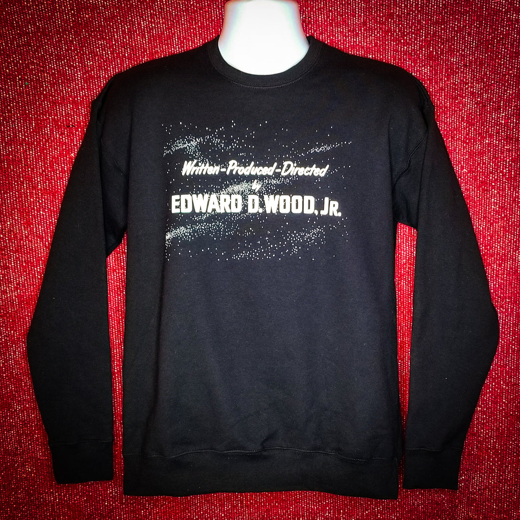 DIRECTED BY ED WOOD JR. sweatshirt - Discount Cemetery