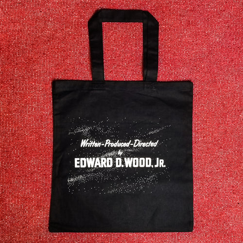 DIRECTED BY ED WOOD tote bag - Discount Cemetery