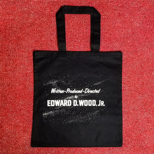 DIRECTED BY ED WOOD tote bag