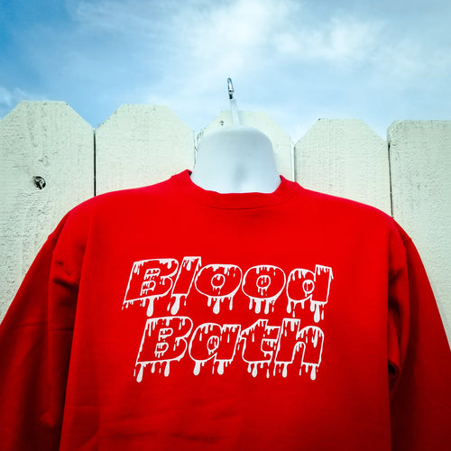 BLOOD BATH sweatshirt - Discount Cemetery