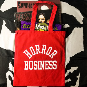 HORROR BUSINESS Tote Bag - Discount Cemetery