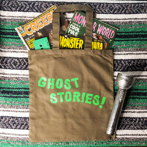 GHOST STORIES! Tote Bag - Discount Cemetery
