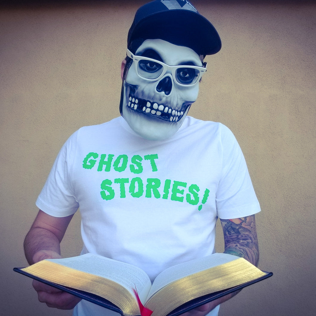 GHOST STORIES! white - Discount Cemetery