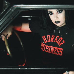 HORROR BUSINESS black - Discount Cemetery