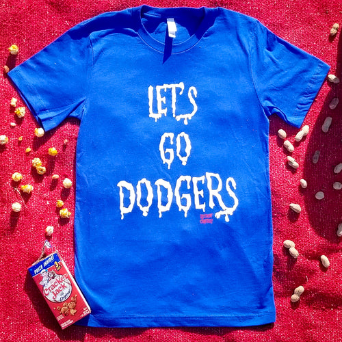 LET'S GO DODGERS blue october - Discount Cemetery