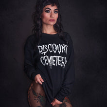 Load image into Gallery viewer, DISCOUNT CEMETERY sweatshirt - Discount Cemetery