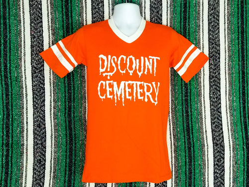 Vintage Jersey - Discount Cemetery - Orange - Discount Cemetery