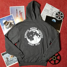 Load image into Gallery viewer, KUBRICK MOON LANDING lunar grey hoodie - Discount Cemetery