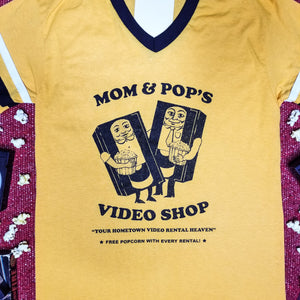MOM AND POP'S VIDEO vintage jersey - Discount Cemetery