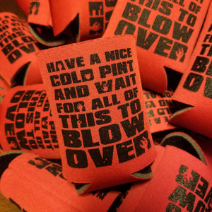 FRIED GOLD koozie - Discount Cemetery