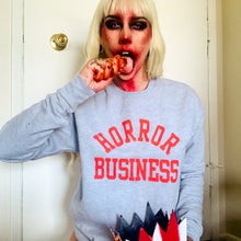 Load image into Gallery viewer, HORROR BUSINESS sweatshirt - Discount Cemetery