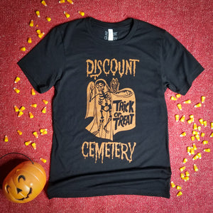 TRICK OR TREAT black - Discount Cemetery