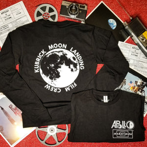 KUBRICK MOON LANDING FILM CREW long sleeve