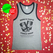 Load image into Gallery viewer, MOM AND POP'S VIDEO tank top - Discount Cemetery