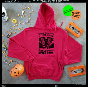 MOM & POP'S HALLOWEEN '86 hoodie - Discount Cemetery