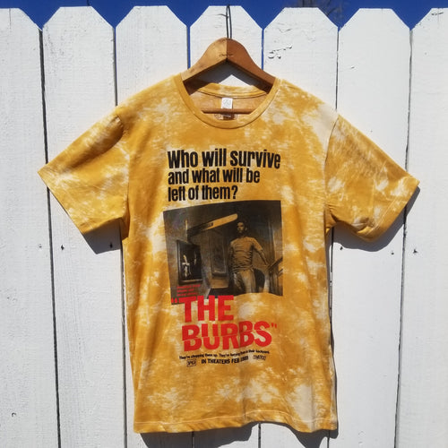 BURBS - RAY THIS IS WALTER gold tie die - Discount Cemetery