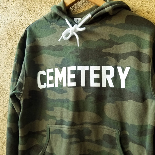 GROUNDSKEEPER camo hoodie - Discount Cemetery