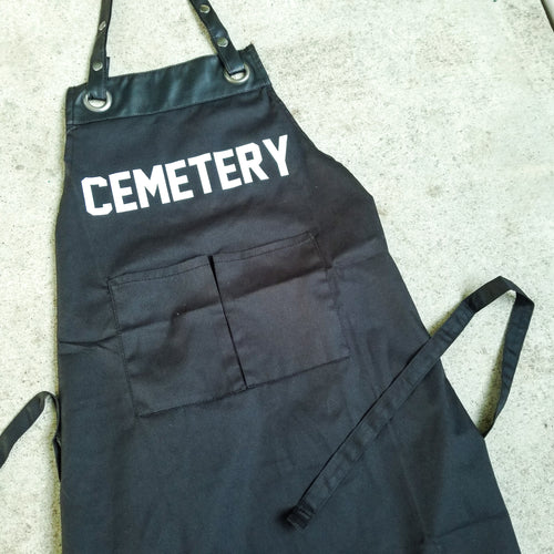 GROUNDSKEEPER embalmer apron - Discount Cemetery