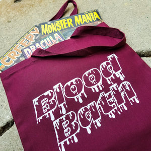 BLOOD BATH tote bag - Discount Cemetery
