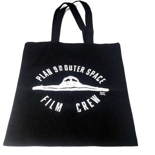Ed Wood Jr. Plan 9 Film Crew Tote Bag - Discount Cemetery