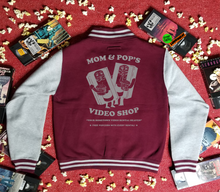 Load image into Gallery viewer, MOM AND POP'S VIDEO varsity jacket - Discount Cemetery