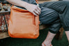 Foldover Satchel - British Tan