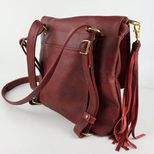 Convertible Backpack - Oxblood Outlaw
