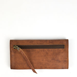 Slim Trifold Wallet - Whiskey Outlaw