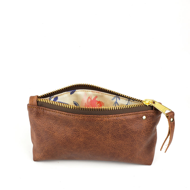 Freckle Zipper Pouch - Whiskey Outlaw