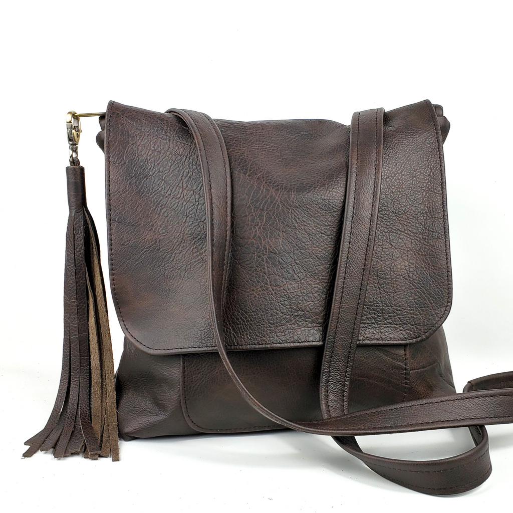 Convertible Backpack - in Chocolate Outlaw