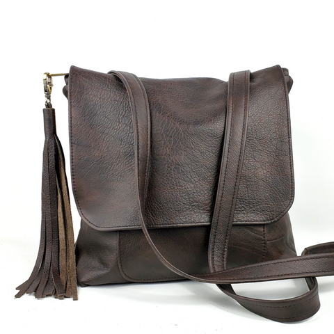 Large Convertible Backpack - in Chocolate Outlaw