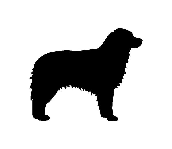 Australian Shepherd Vinyl Decal Car Window Laptop Aussie Dog Silhouette Sticker