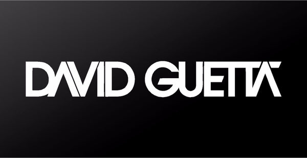 David Guetta Electro House EDM DJ Vinyl Decal Laptop Car Window Sticker