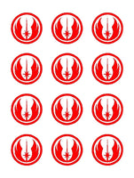 Jedi Order Star Wars Symbol Vinyl Decals Stickers Set