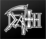 Death Metal Band Vinyl Decal Car Window Laptop Extreme Metal Sticker