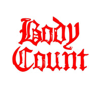 Body Count Bloodlust Ice-T Metal Band Car Window Laptop Speaker Sticker