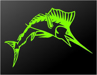 Sailfish Vinyl Decal Car Truck Window Boat Fishing Sticker
