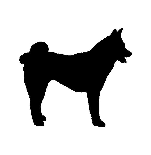 Akita Dog Breed Vinyl Decal Car Window Laptop Akita Inu Sticker