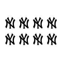 New York Yankees Vinyl Decals Phone Laptop NY Small Stickers Set of 8