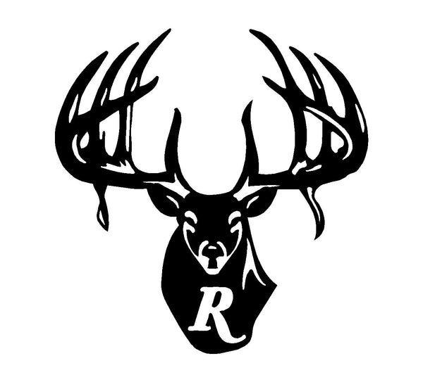 Remington Country Vinyl Decal Car Truck Window Buck Logo Hunting Sticker