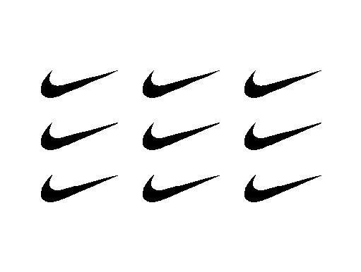 9 Nike Swoosh Logo Vinyl Decals Small Nike Stickers